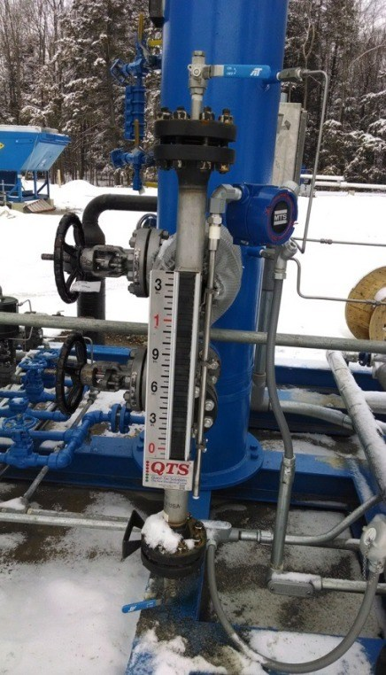 medidor de nivel de líquidos magnético